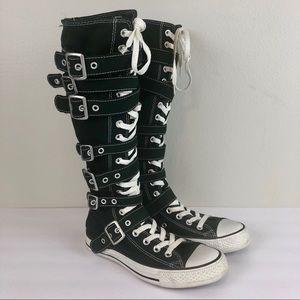Converse All Star Chuck Taylor Buckle Zip Boots